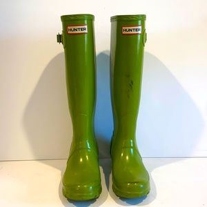Hunter limited edition original gloss tall boots